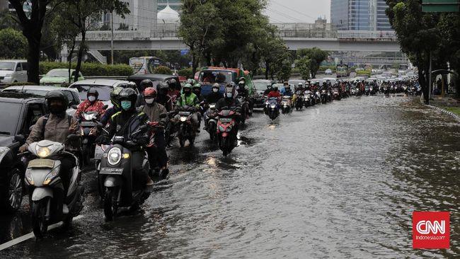BMKG menetapkan level siaga banjir dan tanah longsor dampak cuaca ekstrem selama tiga hari di wilayah Provinsi Banten, DKI Jakarta, Jawa Barat, dan Jawa Timur.