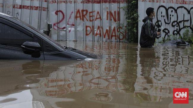 Wagub Ahmad Riza membandingkan tenggang surutnya banjir di DKI Jakarta dengan daerah lain. Dia bersyukur banjir DKI tak butuh waktu berhari-hari untuk surut.