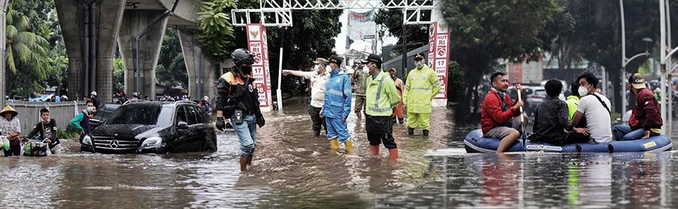 Banjir Hantam Jakarta