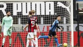 FOTO: Hajar Milan, Inter Mantap di Puncak Klasemen