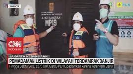 VIDEO: Pemadaman Listrik di Wilayah Terdampak Banjir
