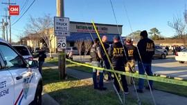 VIDEO: Baku Tembak di New Orleans AS, Tiga Orang Tewas