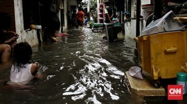 BPBD DKI: Banjir Jakarta Surut Sejak Tadi Malam