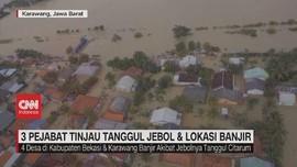 VIDEO: 3 Pejabat Tinjau Tanggul Jebol & Lokasi Banjir