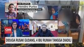VIDEO: Diduga Rusak Gudang, 4 Ibu Rumah Tangga Diadili