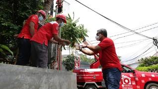 Telkom Pastikan Jaringan Aman saat Banjir Landa Jakarta