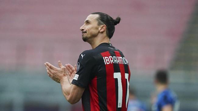 Ibrahimovic Absen di Man Utd vs Milan