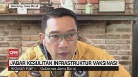 VIDEO: Jabar Kesulitan Infrastruktur Vaksinasi