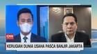 VIDEO: Kerugian Dunia Usaha Pasca Banjir Jakarta