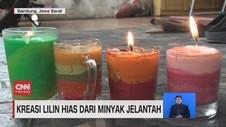 VIDEO: Kreasi Lilin Hias dari Jelantah