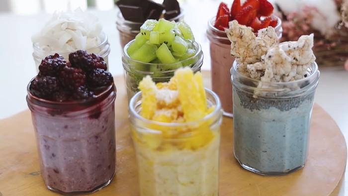 Kreasi Resep Overnight Oats untuk Sarapan Diet ala Yulia Baltschun