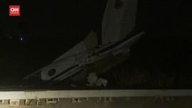 VIDEO: Pesawat Militer Nigeria Jatuh, Tujuh Orang Tewas