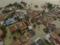 FOTO : Banjir di Bekasi-Karawang Imbas Tanggul Citarum Jebol