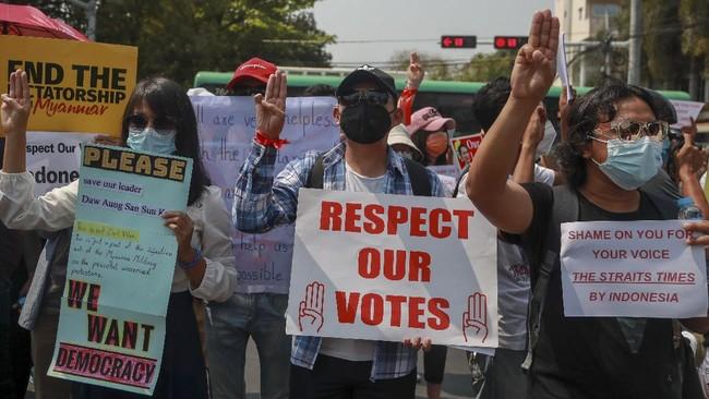 Menlu Myanmar Bertemu Retno hingga Selamat Jokowi ke Suu Kyi