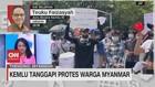 VIDEO: Kemlu Tanggapi Protes Warga Myanmar