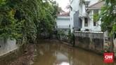 Wilayah Kemang yang dikenal sebagai salah satu daerah pergaulan juga 'kampung ekspatriat' di Jaksel pada Sabtu lalu terendam banjir.