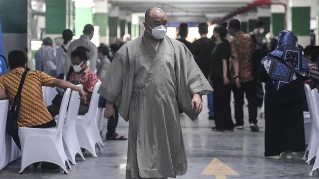Masjid Istiqlal, Jakpus, menjadi salah satu tempat yang dipilih pemerintah sebagai lokasi vaksinasi massal bagi pemuka lintas agama mulai Selasa (23/2).