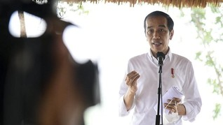 Jokowi Perintahkan Pembangunan Bendungan di NTT Ditambah