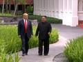 VIDEO: Cerita Trump Tawarkan Kim Jong-un Tumpangan saat KTT