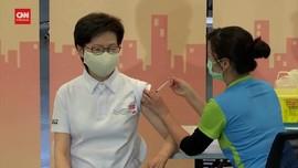 VIDEO: Pemimpin Hongkong Terima Vaksin Buatan Tiongkok