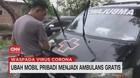 VIDEO: Ubah Mobil Pribadi Menjadi Ambulans Gratis