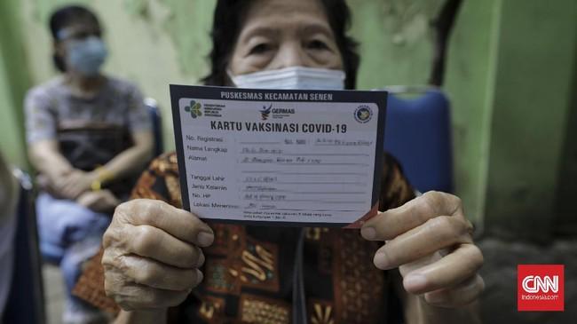 WHO Ungkap Kemajuan Vaksinasi Lansia Aceh dan Sumbar Lambat