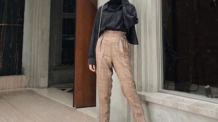 5 Outfit Hijab dengan Celana High Waist, Bikin Penampilan Kece dan Swag