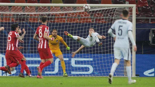 Berikut tiga kunci Chelsea menjinakkan Atletico Madrid di leg pertama babak 16 besar Liga Champions.
