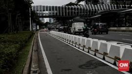 Mobil Melintas di Jalur Sepeda, Polisi Belum Menindak