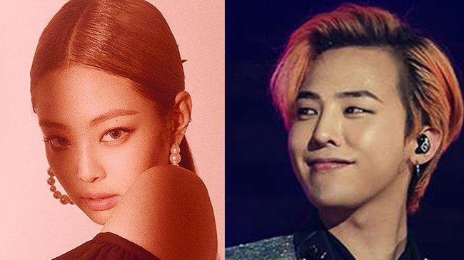 Jennie BLACKPINK dan G-Dragon dilaporkan telah berpacaran selama setahun terakhir.