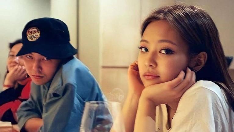 Jennie BLACKPINK G-Dragon