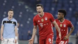 Cedera Empat Pekan, Lewandowski Absen di Bayern vs PSG