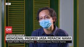 VIDEO: Mengenal Profesi Jasa Peracik Nama