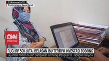 VIDEO: Rugi Rp.500 Juta, Belasan Ibu Tertipu Investasi Bdong
