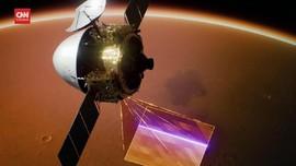 VIDEO: Pesawat Luar Angkasa China Parkir di Orbit Mars