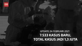 VIDEO: 7.533 Kasus Baru, Total Kasus Covid di RI 1,3 Juta