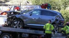 Viral Rekaman Video Laju Mobil Tiger Woods Sebelum Kecelakaan