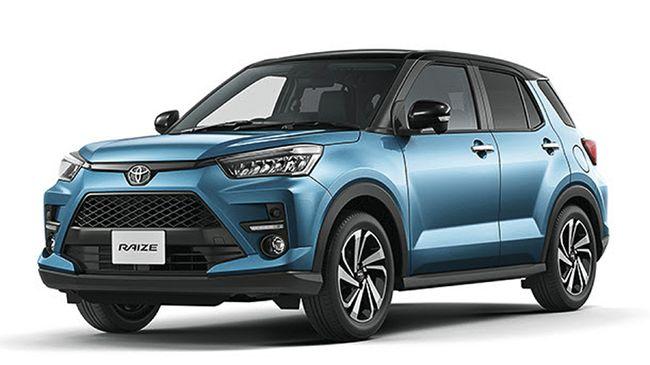 Model kembar Daihatsu Rocky dan Toyota Raize akan meluncur pada hari yang sama, namun terpaut jam.