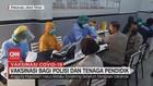 VIDEO: Vaksinasi bagi Polisi dan Tenaga Pendidik