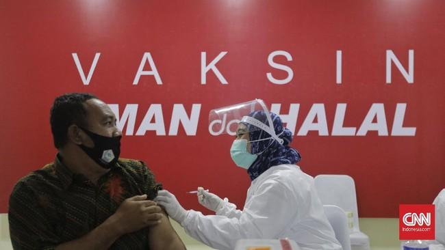 12 Ribu Orang di DPR Ikut Vaksinasi Covid-19