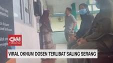 VIDEO: Viral Oknum Dosen Terlibat Saling Serang