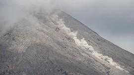Pengamatan Luncuran Abu Gunung Sinabung Terhalang Mendung