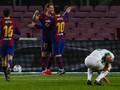 Hasil Liga Spanyol: Messi 2 Gol, Barcelona Hajar Elche 3-0