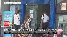 VIDEO: Nasabah BRI Laporkan Dugaan Pembobolan ATM