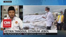 VIDEO: Ketika Tanggul Citarum Jebol