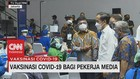 VIDEO: Jokowi Kunjungi Vaksinasi Covid-19 Bagi Pekerja Media