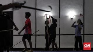 FOTO: Wushu Percepat Pelatnas di Masa Pandemi Covid-19