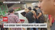 VIDEO: Polisi Gerebek Tempat Persembunyian Pelaku Jambret