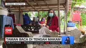 VIDEO: Taman Baca di Tengah Makam