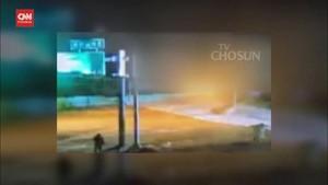 VIDEO: Pria Korut Berenang Enam Jam Menuju Korsel